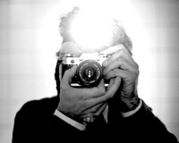 Peter Miller Selfportrait with Headlamp, 2009 C-Print 60 × 75 cm
