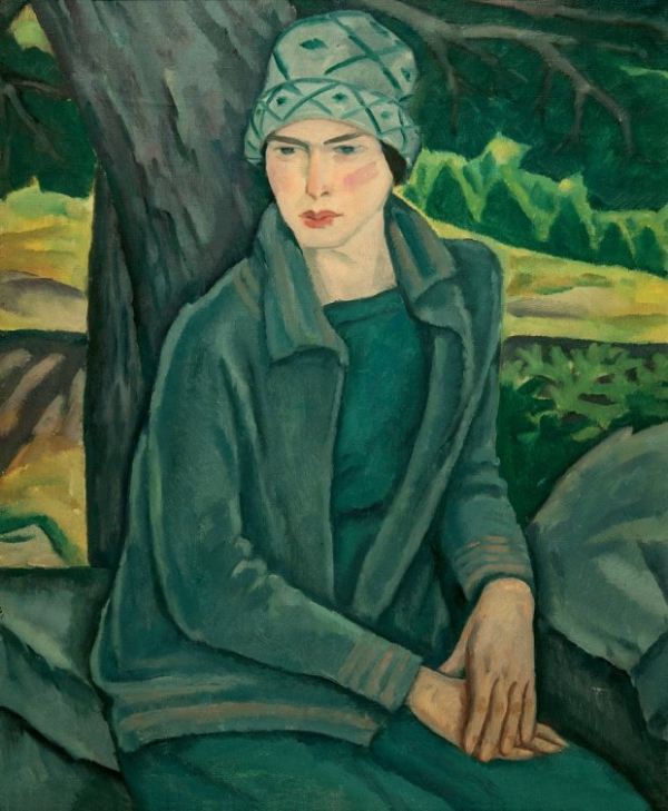 Emil Holzhauer, Mildred Weiss, 1928, Öl auf Leinwand, 73,3 x 58 . © Northwest Florida State College Permanent Collection, Niceville, Florida