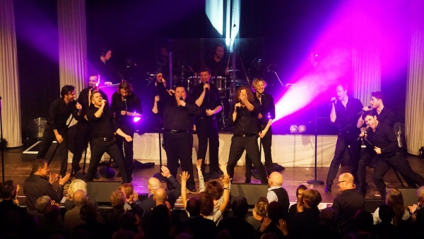 """The 12 Tenors"" in Aalen"